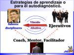 estrategias de aprendizaje o para el autodiagn stico