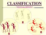 classification many into groups