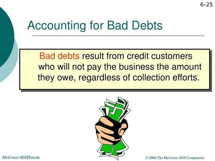 Accounting for Bad Debts