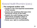 general audit overview cont1