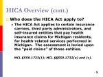 hica overview cont1