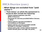 hica overview cont6