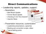 direct communications1