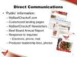 direct communications3