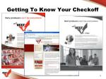 getting to know your checkoff