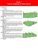 week 1 theme dribbling for ball control