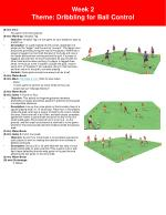 week 2 theme dribbling for ball control