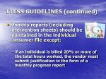 ltess guidelines continued3