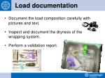 load documentation