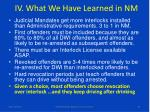 iv what we have learned in nm