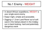 no 1 enemy weight