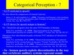 categorical perception 7