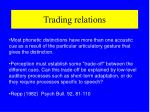trading relations
