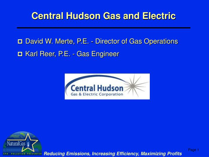 central hudson gas and electric n.