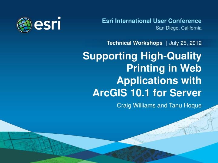 supporting high quality printing in web applications with arcgis 10 1 for server n.