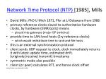 network time protocol ntp 1985 mills