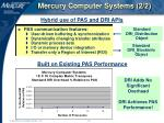 mercury computer systems 2 2
