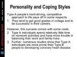 personality and coping styles3
