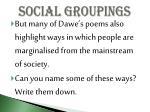 social groupings3
