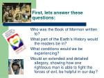 first lets answer these questions