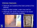 chimney cleanouts