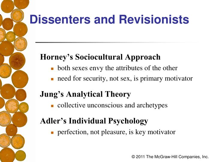 Dissenters and Revisionists