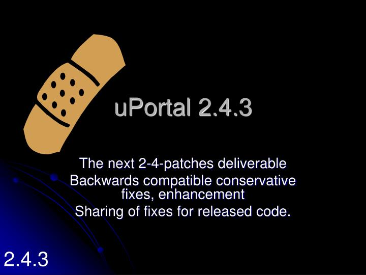 uPortal 2.4.3