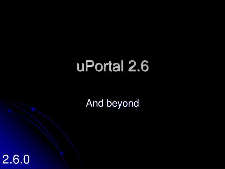 uPortal 2.6