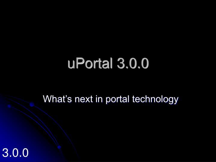 uPortal 3.0.0