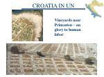croatia in un