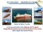 economy shipbuilding
