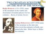 two croatian scientists