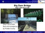 big dam bridge near little rock ar
