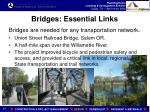 bridges essential links