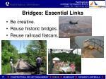 bridges essential links1