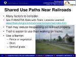 shared use paths near railroads1