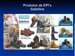 produtos de epi s safetline