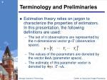 terminology and preliminaries