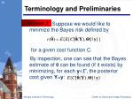 terminology and preliminaries2