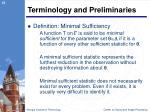 terminology and preliminaries6
