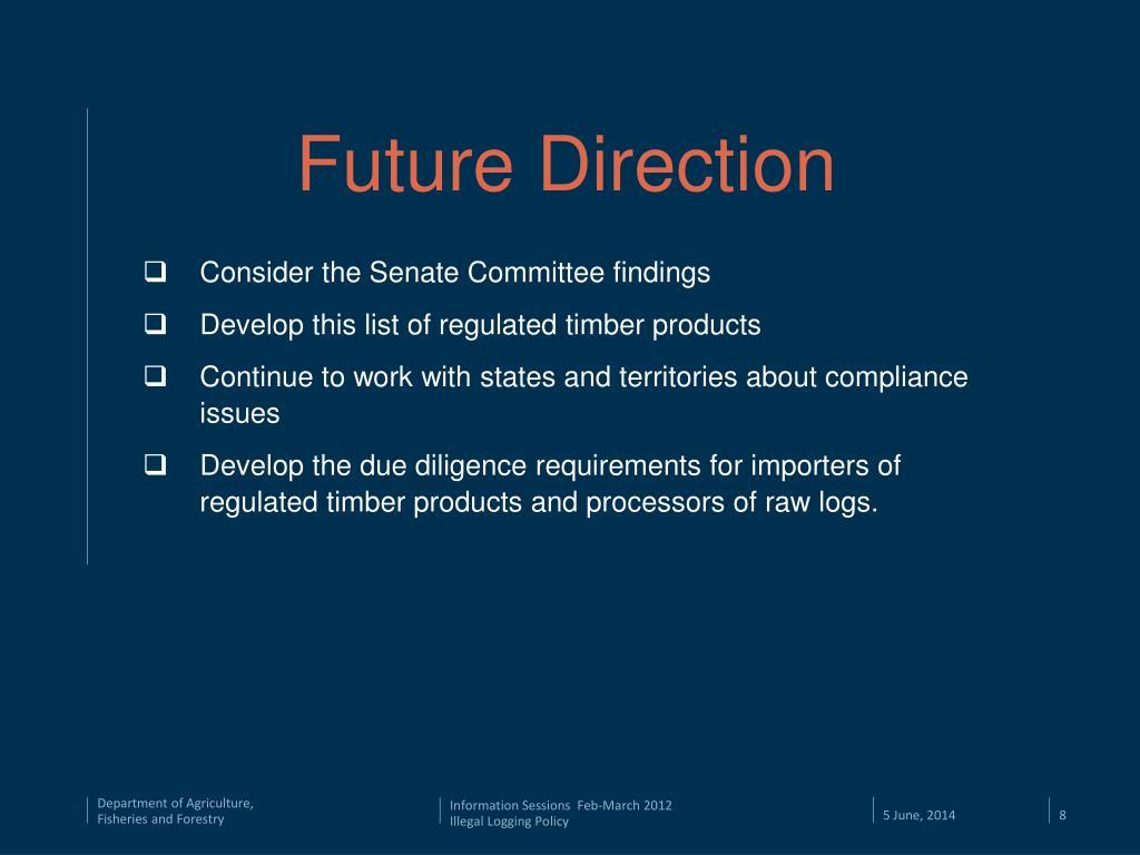 PPT - Illegal Logging Prohibition Bill 2011 PowerPoint