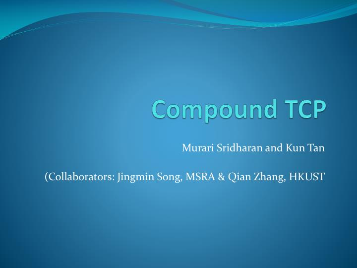 compound tcp n.
