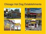 chicago hot dog establishments
