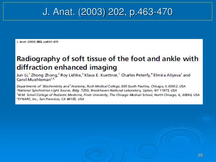 J. Anat. (2003) 202, p.463-470