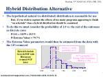 hybrid distribution alternative