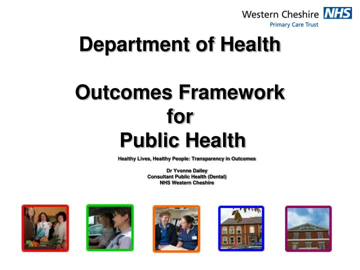 department of health outcomes framework for public health n.