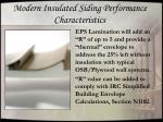 modern insulated siding performance characteristics1