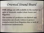 oriented strand board1