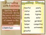 journaling with fractions4