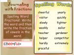 journaling with fractions5